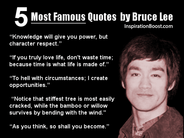 Most Por Quotes Of Bruce Lee