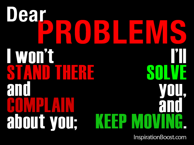 Problem Quotes Adorable Dear Problems  Inspiration Boost