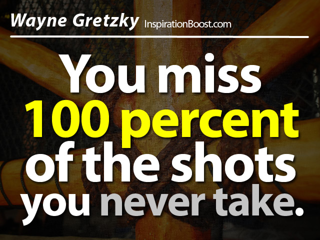 Wayne Gretzky Action Quotes
