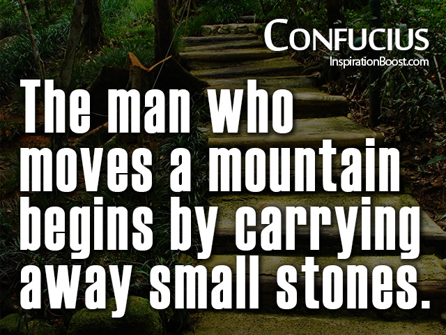 Confucius Action Quotes