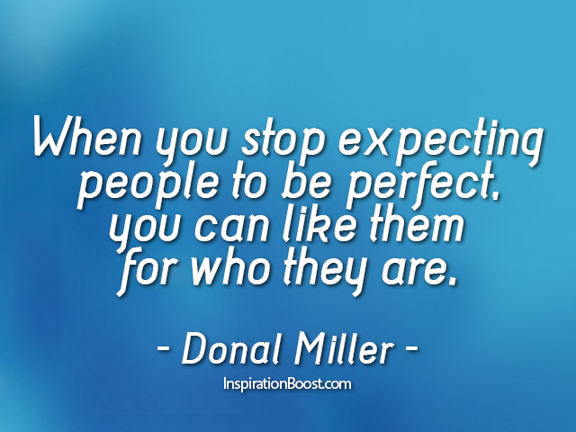 Donald Miller Expectation Quotes