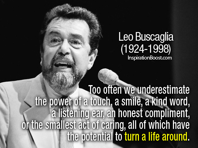 Quotes by Leo Buscaglia