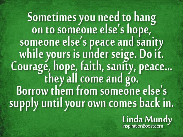 Linda Mundy Quotes