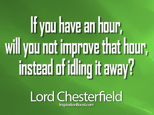 Lord Chesterfield Quotes