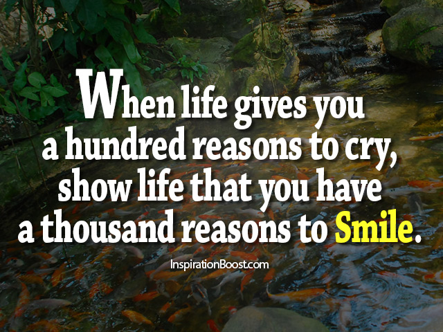 Reason to Smile Quotes