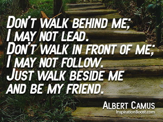 Friendship Quotes Albert Camus