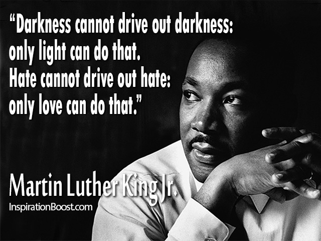 Martin Luther King Love Quotes New Martin Luther King Jr Famous Quotes  Inspiration Boost