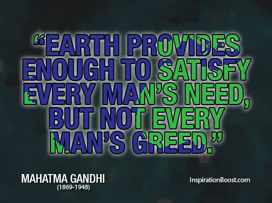 Gandhi Quotes On Love Custom Earth Quotes Mahatma Gandhi  Inspiration Boost