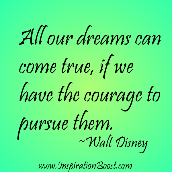 Inspirational Walt Disney Quotes: Inspiration Boost