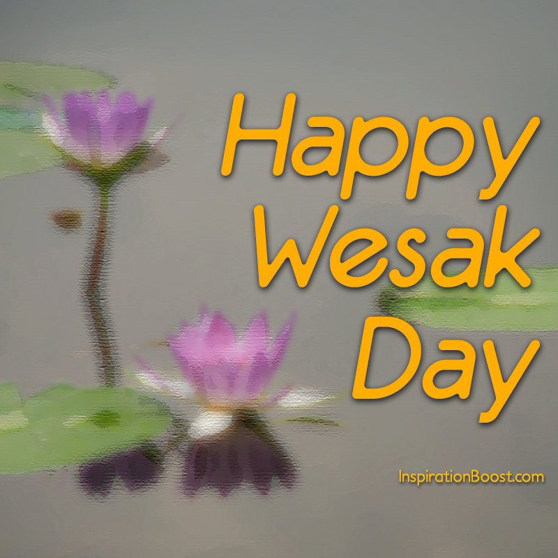 Wishing Poster for Wesak Day