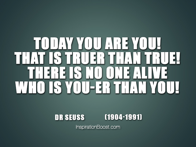 Dr Seuss Self Quotes