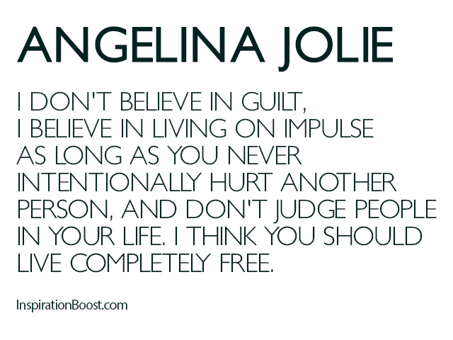 Angelina Jolie Freedom Quotes
