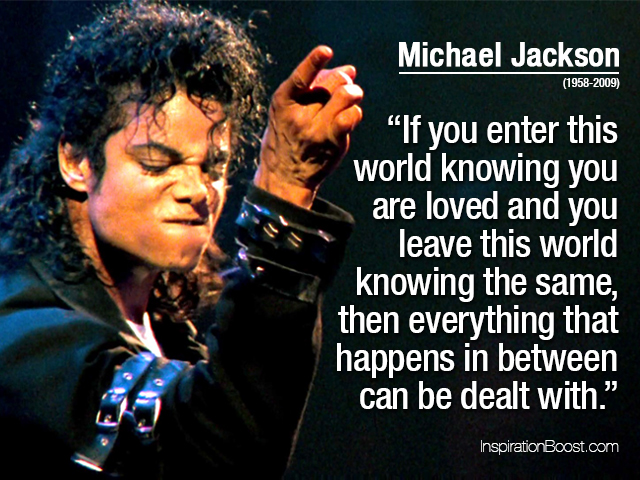 Michael Jackson Love Quotes