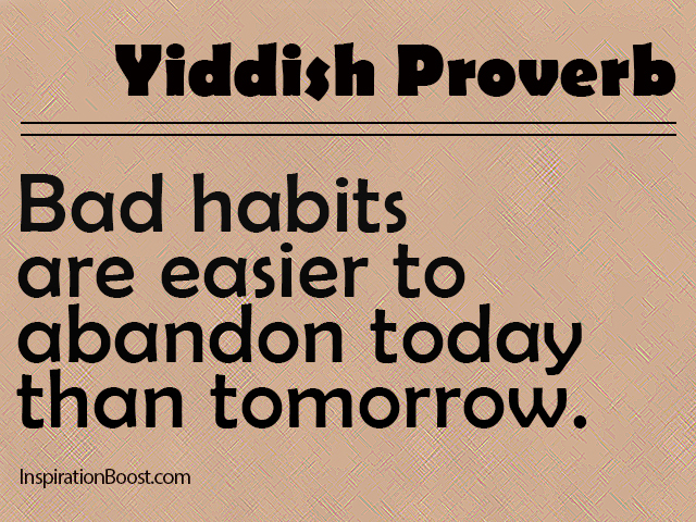 Bad Habits Quote