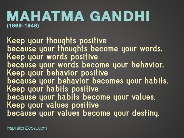 Ghandi Quotes About Life