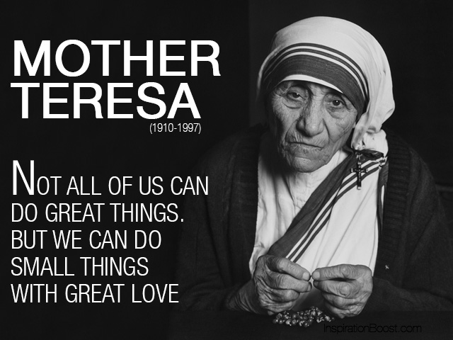 Resulta ng larawan para sa mother teresa quotes