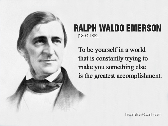 the principles of transcendentalism brought out in ralph waldo emersons self reliance ― ralph waldo emerson, self reliance tags: self-confidence, self-reliance, self-trust nothing can bring you peace but the triumph of principles.