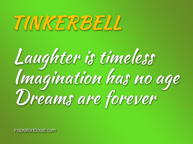 Tinkerbell quotes inspiration boost tinkerbell quotes voltagebd Choice Image
