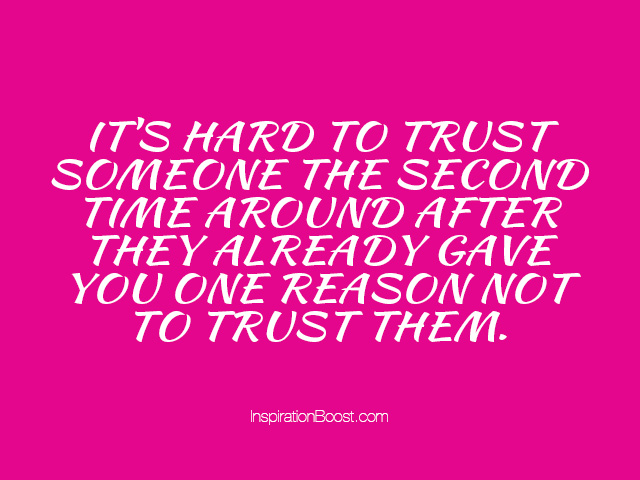 quotations on trust - photo #21