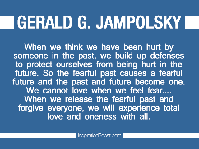 Gerald G. Jampolsky Quotes