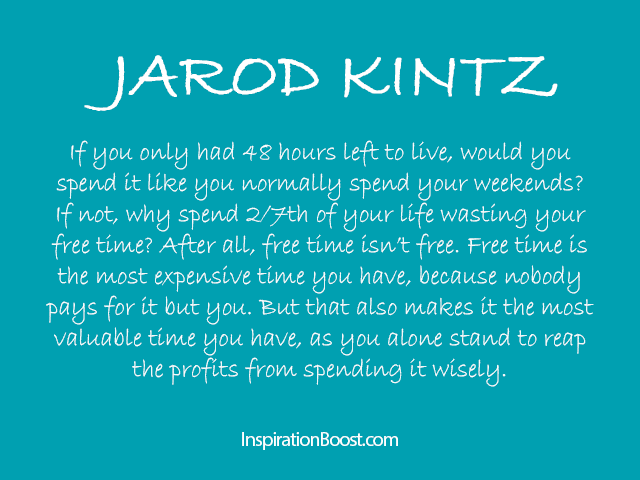 Jarod Kintz Free Quote