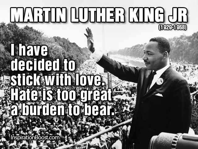 Martin Luther King Jr Famous Quote