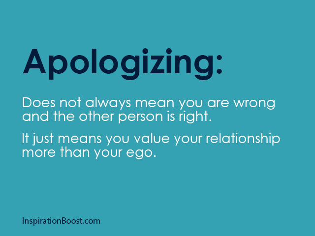 Empathy, Apology and Sorry