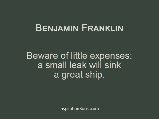 Benjamin-Franklin-Financial-Quotes