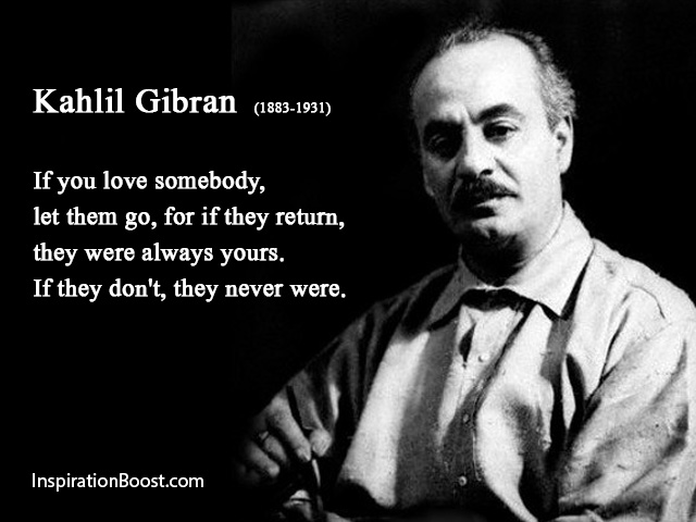 Kahlil Gibran Love Quotes Inspiration Boost