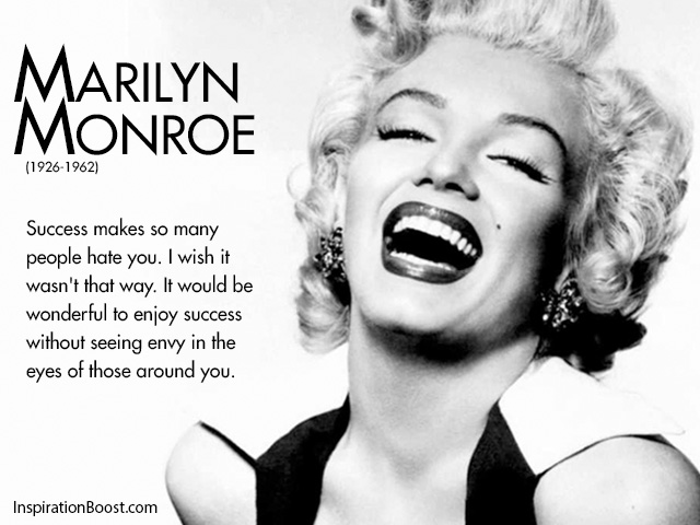 Marilyn Monroe Envy Quotes