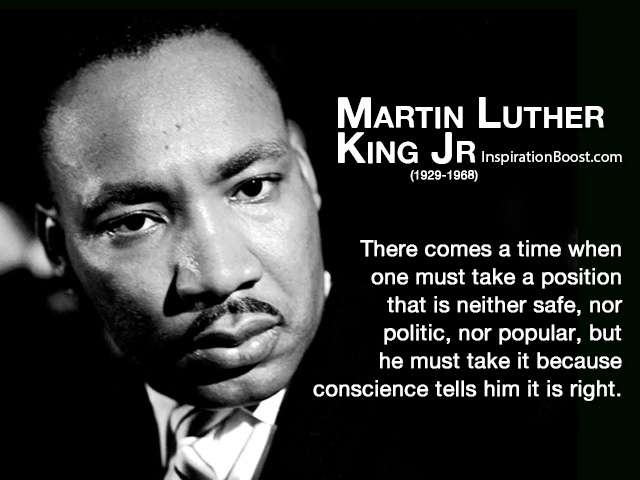 Martin Luther King Jr Responsible Quotes