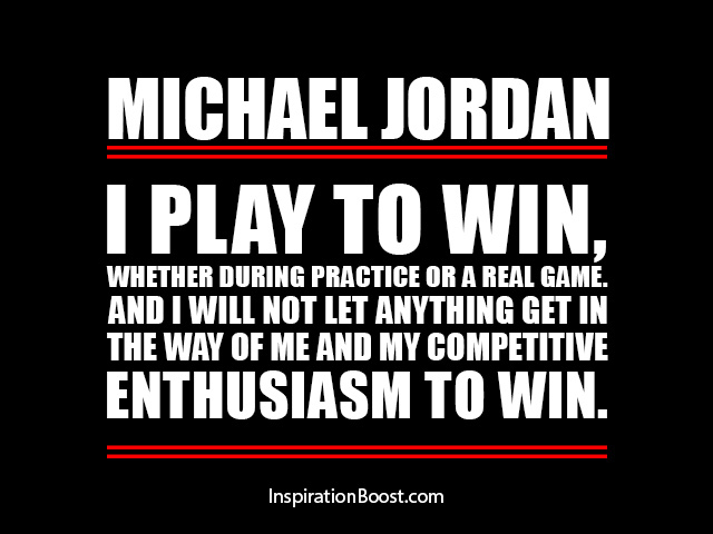 Enthusiasm to Win Quotes