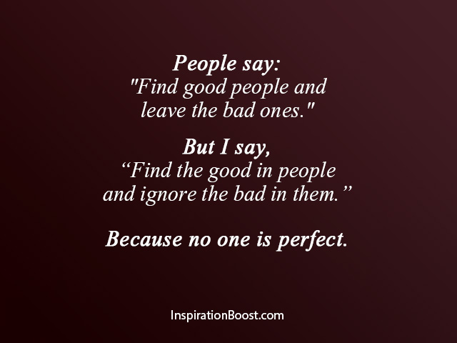 Find the Good in People Quotes