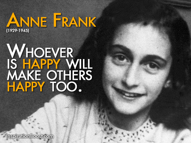 Anne Frank Popular Quotes