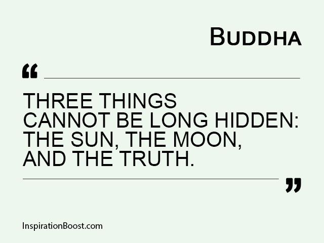 Buddha Quotes about Truth