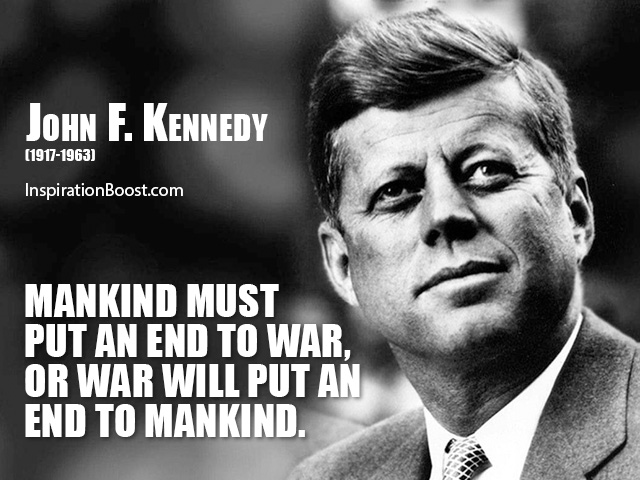 john m kennedy quotes