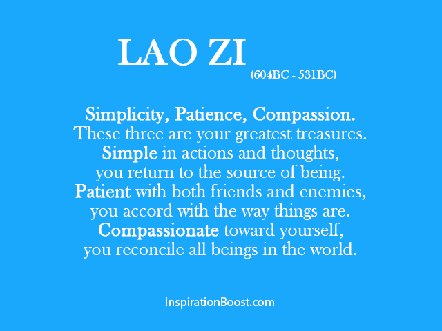 Lao Tzu Quotes Life Alluring Lao Zi Famous Quote Of Life  Inspiration Boost