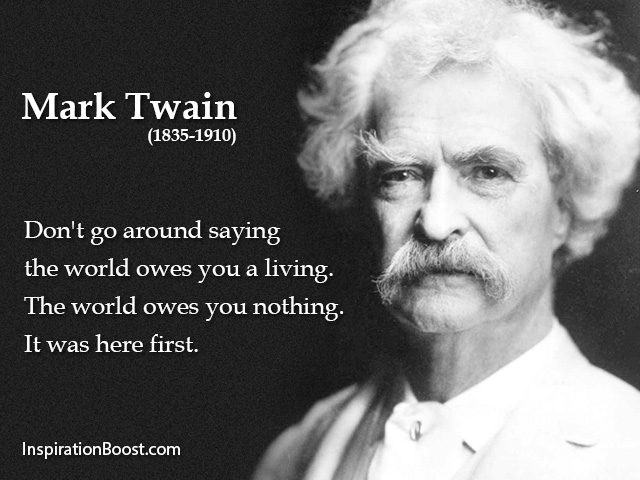 Mark Twain Owes Quotes