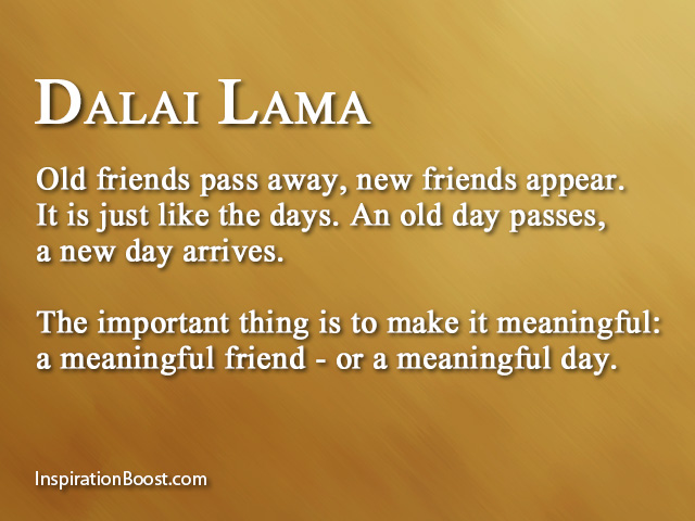 Meaningful Quotes About Friendship Cool Dalai Lama Meaningful Quotes  Inspiration Boost