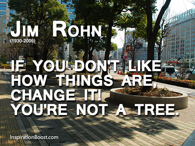 Jim Rohn Tree Quotes
