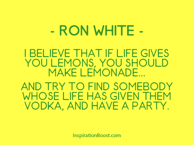 Funny Lemonade Quotes