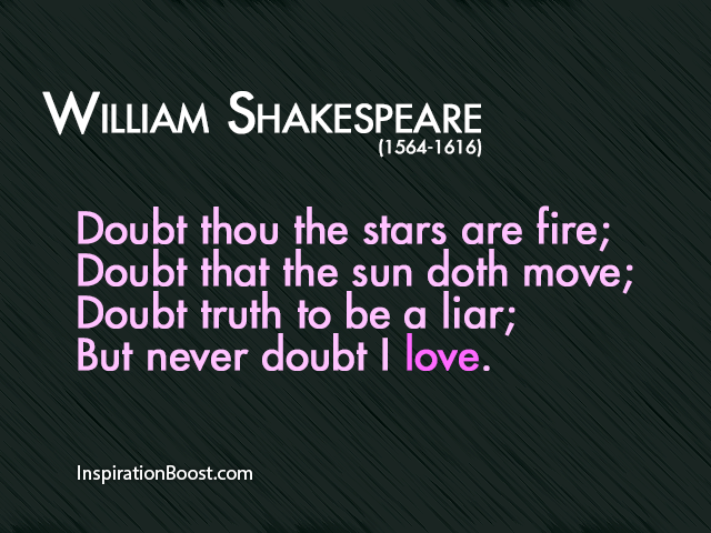 Genial William Shakespeare Love Quotes