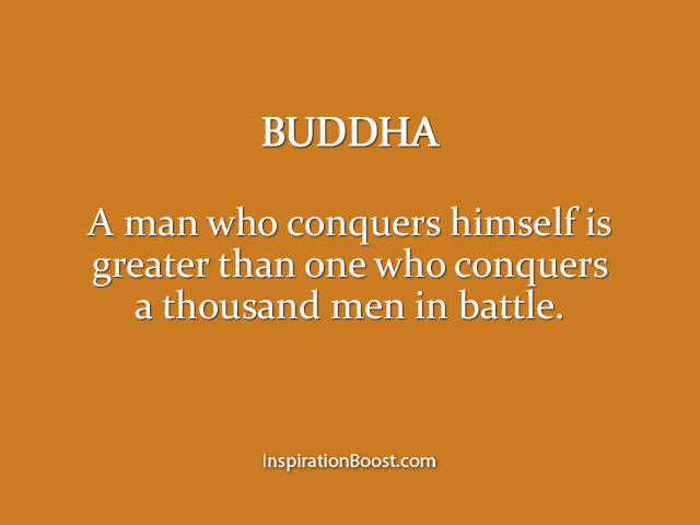 Buddha Battle Quotes