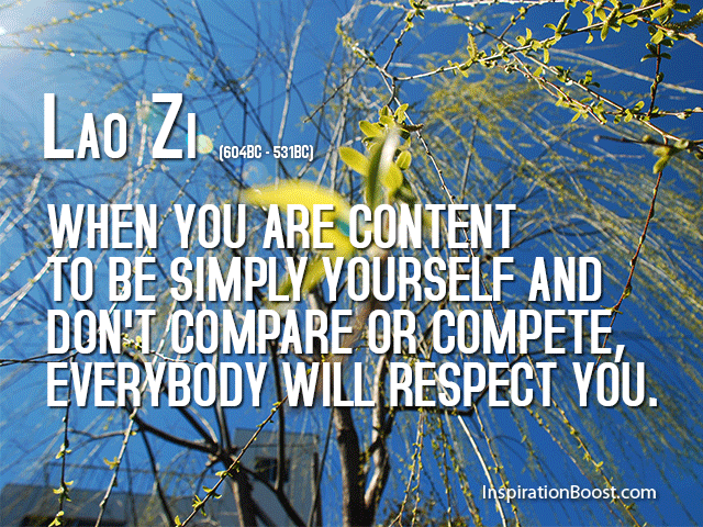 Lao Zi Respect Quotes