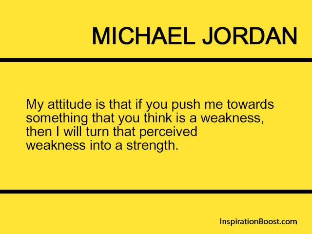 Michael Jordan Strength Quotes