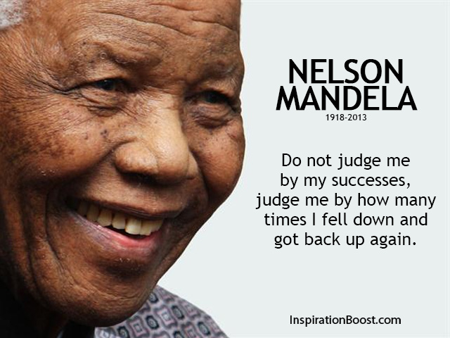 Nelson Mandela Failure Quotes
