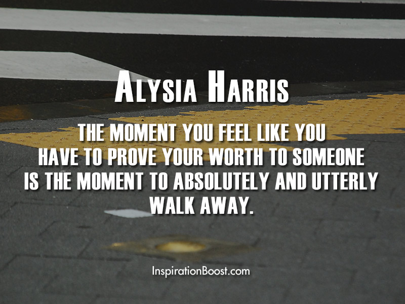 Alysia Harris Quotes