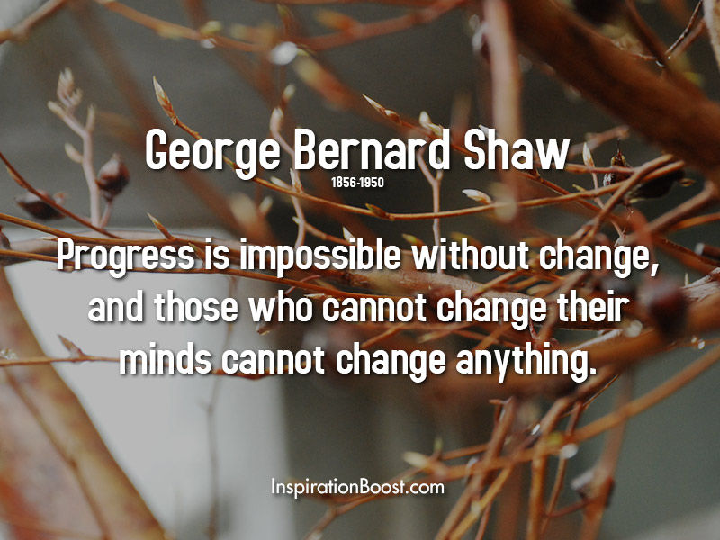 George Bernard Shaw Progress Quotes