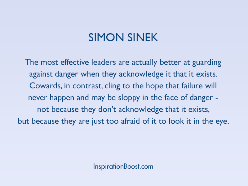 Simon Sinek Inspiring Leadership Quotes