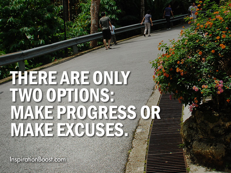 Choices of Progress and Excuses